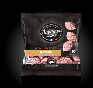 Auvernou Mini Snack Plain 75g