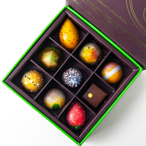 Box of 9 artisan chocolates - Easter promotion!