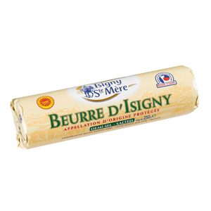 Isigny Sainte Mère - AOP Butter Roll Salted (250g) - Foodster.vn