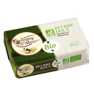 Isigny Unsalted Organic Butter 200g
