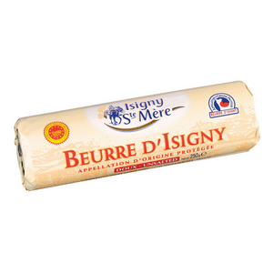Isigny Sainte Mère - AOP Butter Roll Unstalted (250g) - Foodster.vn