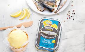 Sardines cooked in Churned Butter (115gr)