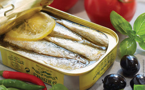 Boneless sardines in Extra Virgin Oil and Lemon (115gr)