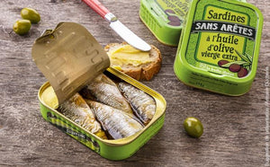 Boneless sardines in Extra Virgin Oil (115gr)