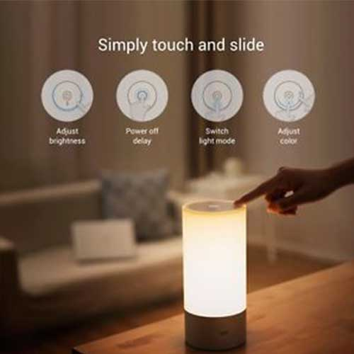 Smart Music LED Touch LAMP Bluetooth Speaker