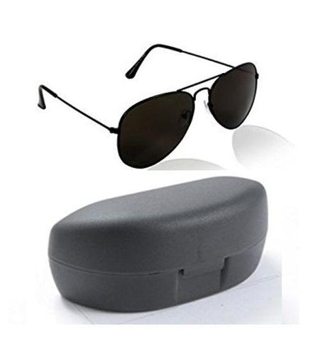Fancy Sunglasses Black Aviator Goggles - Shopeleo