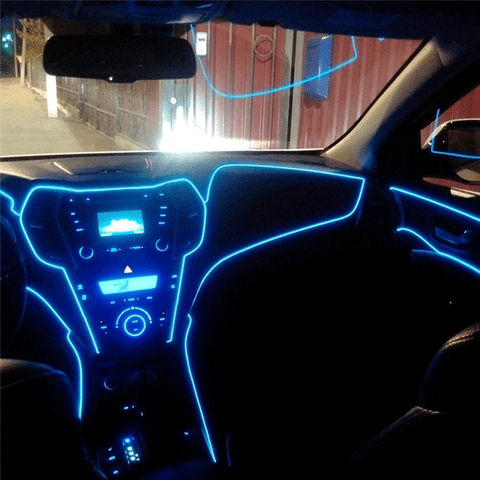 Flexible Neon String Light For Car Decoration