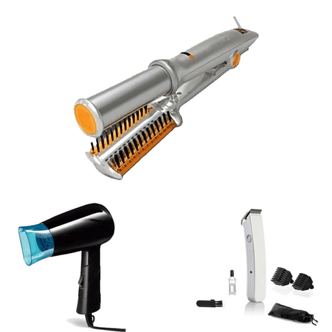 Image of Special Combo ( Straightner + Trimmer + Dryer ) - Shopeleo