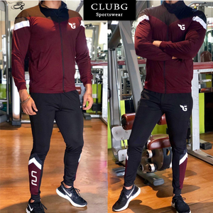 Trendy Wine Color Tracksuit