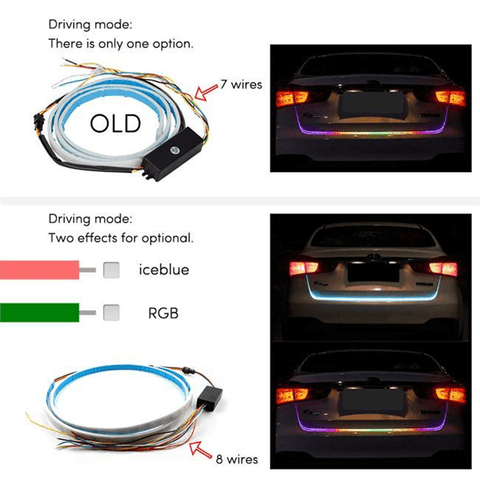 Image of Luminated Car Stripe Light (All cars) - Shopeleo