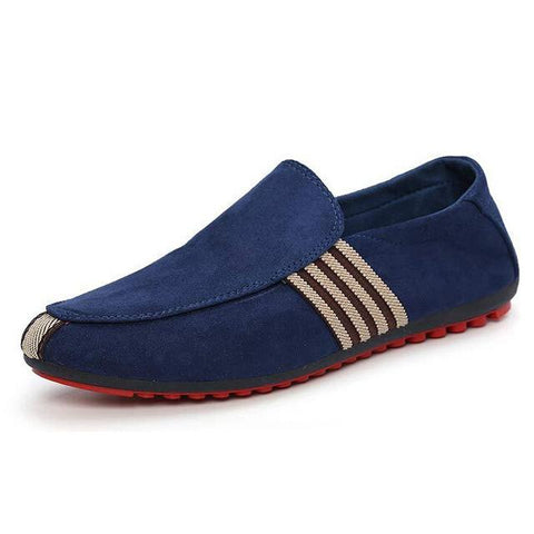 Image of Striped Solid Men Summer Fashion Shoes - Shopeleo