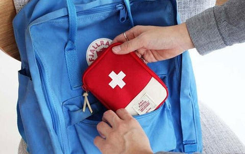 Image of first Aid Emergency Medical Survival Kit Bag - Shopeleo