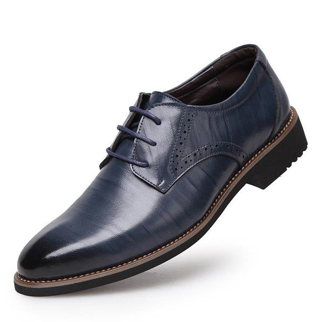 Tangnest 2017 High-Quality Men Business Flats - Shopeleo