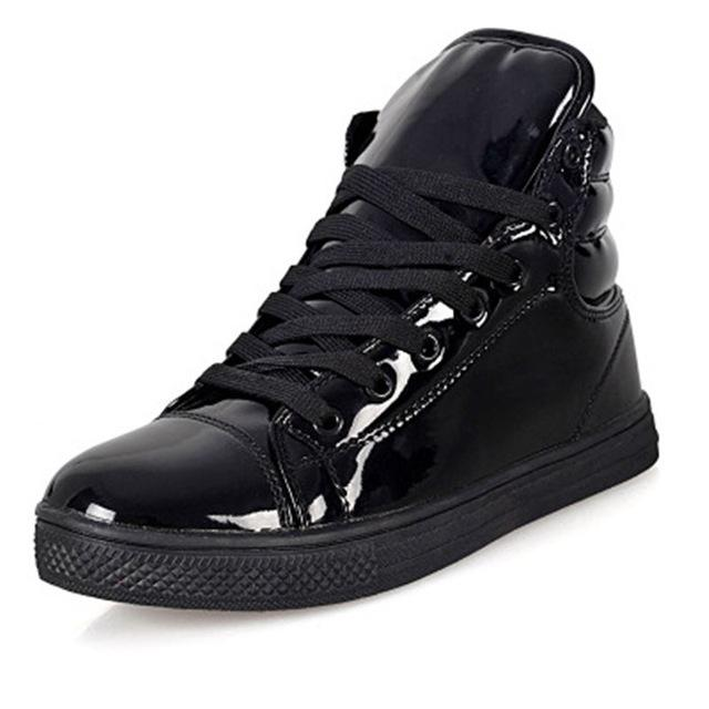 New Arrival Lighted Candy Color High-top Shoes - Shopeleo