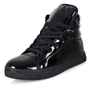 New Arrival Lighted Candy Color High-top Shoes