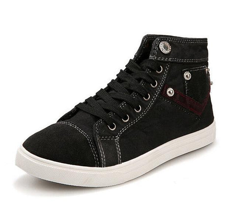 Image of New Spring Men Canvas Shoes - Shopeleo
