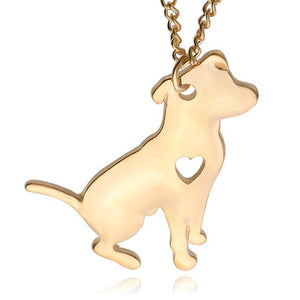 Pitbull Jewelry Custom Dog pendant necklaces for dog lovers
