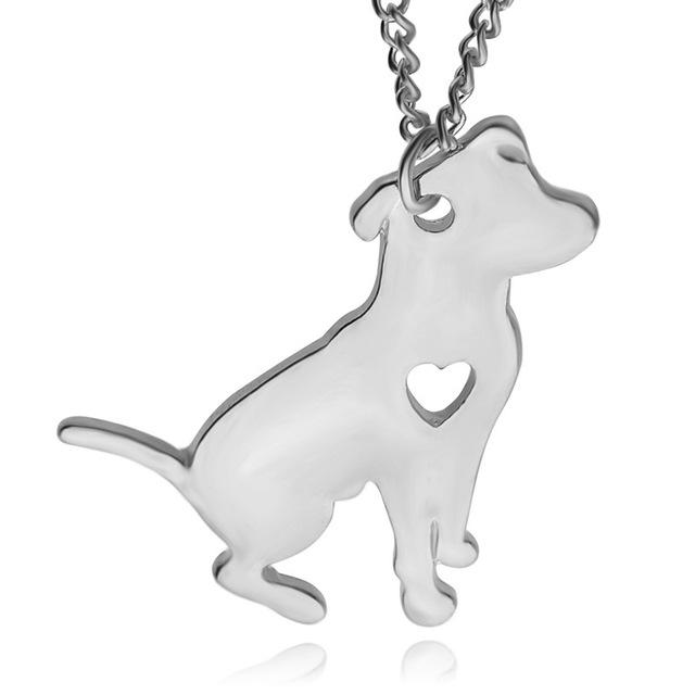 Pitbull Jewelry Custom Dog pendant necklaces for dog lovers - Shopeleo