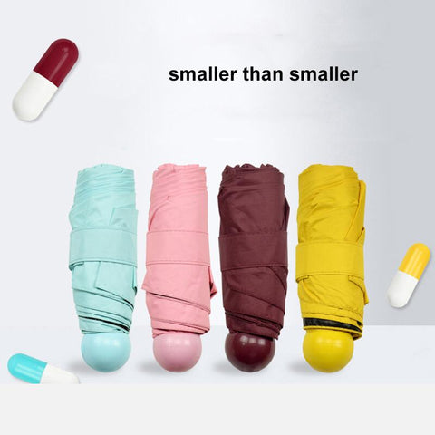 Mini Pocket Windproof Folding Umbrella - Shopeleo