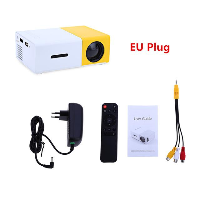 Portable LCD LED Projector - Shopeleo