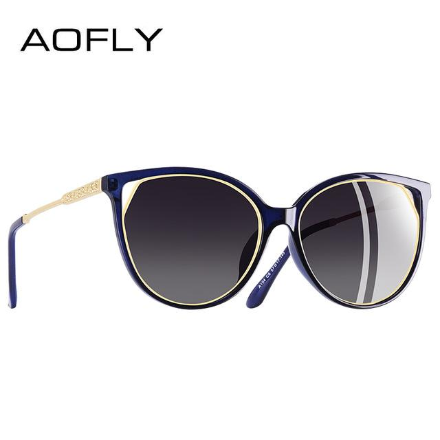 Fashion Sunglasses 2018 Polarized Cat Eye Sun Glasses - Shopeleo