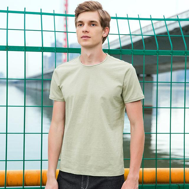 Top quality bamboo cotton stretch Tshirt - Shopeleo