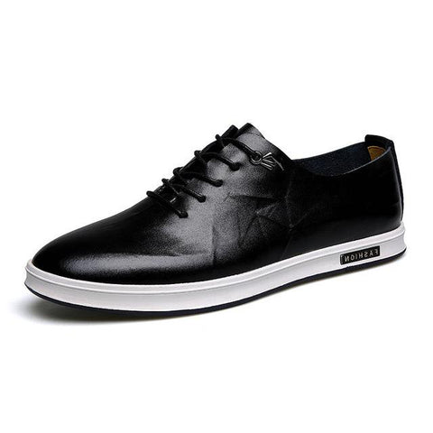 Image of Gaorui Mens Genuine Leather Shoes - Shopeleo