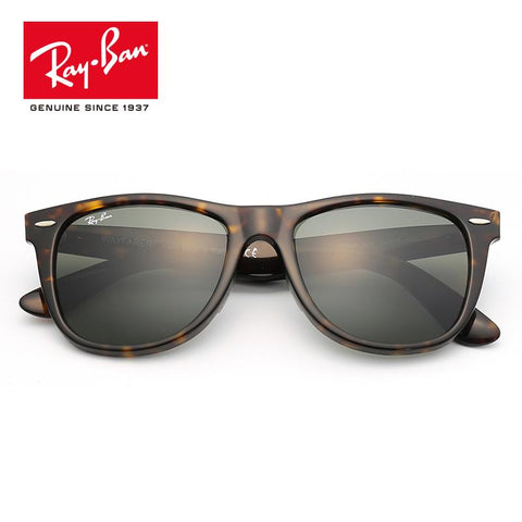 RayBan sunglasses square simple  gradual mirror for Mens Womens - Shopeleo