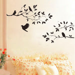 Black Bird Tree Branch Sticker