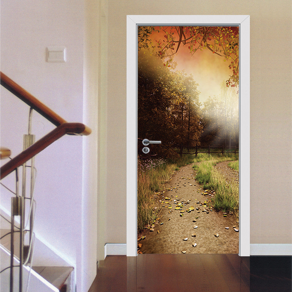 3D Wall Sticker Bathroom Decal Art
