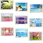 Window View Scenery Wall Sticker
