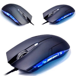 Gaming Mouse - 2400 DPI 6 Buttons Optical LED Light Wired