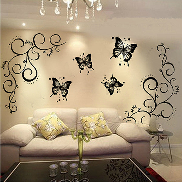 Butterfly Home Decor Wall Stickers