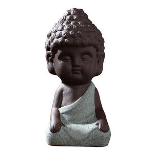 Buddha Statue Sculpture Hand Carved Fengshui Figurine
