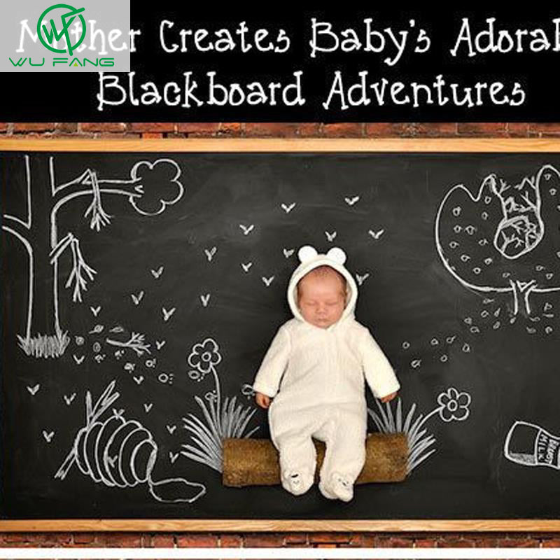 Chalk Board Blackboard Stickers for Kids Room