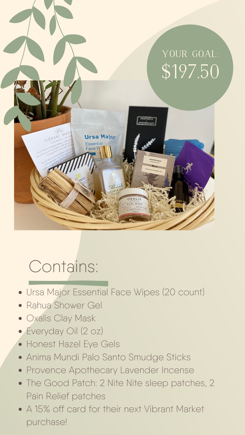 Healthcare Self-Care Basket Donation