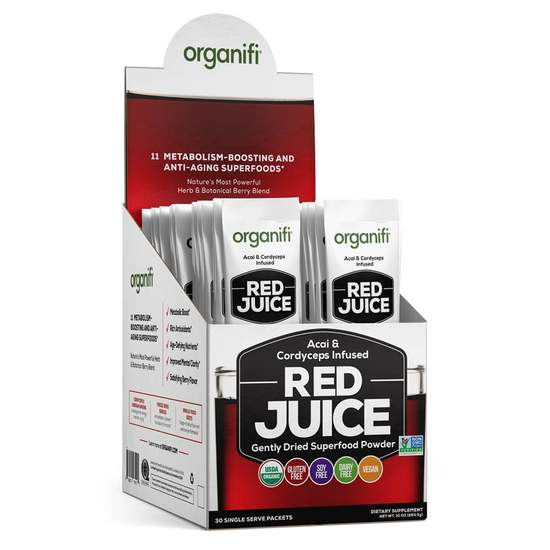 Organifi Red Juice Go Packs