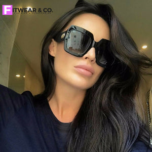 Over-Sized Square Sunglasses 2018