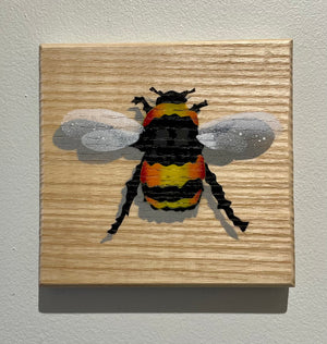 bee picture art
