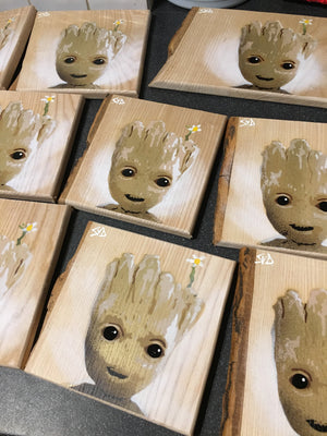 super hero art buy groot