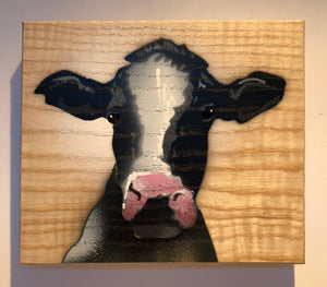 cow picture art buy
