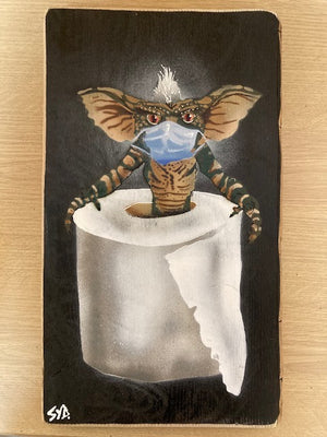 Second Stripe Gremlin - Signed Limited edition of 20 created in 2020 - LAST FEW LEFT!