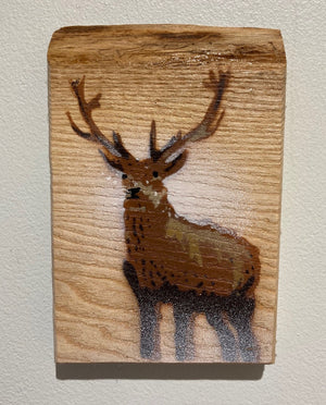 Stag Micro - Handmade on Wood - Last chance to buy only few left!