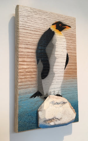 penguin painting art