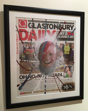 eavis bowie picture glastonbury 2016
