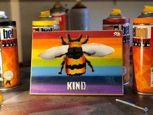 Bee Kind - Rainbow