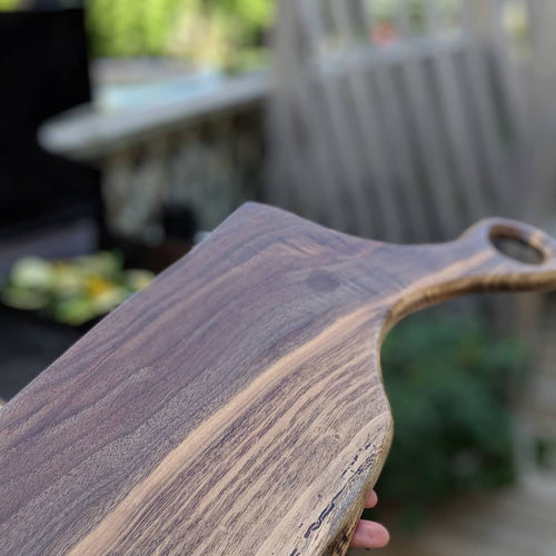 Live Edge Walnut Charcuterie Board
