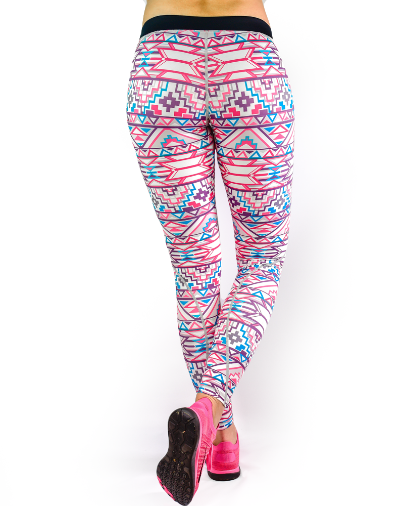 Aztec Series Compression Pants Womens Strong Liftwear