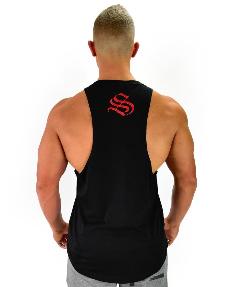 Boulder Cut Sleeveless USA Mens Strong Liftwear
