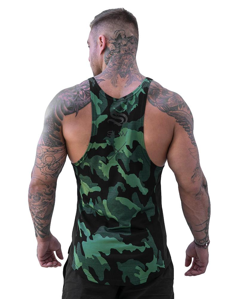 Camolite Taperback - Green Mens Strong Liftwear